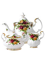 Old Country Roses 3-pc Tea Set