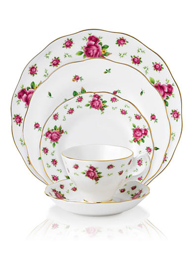 Royal Albert New Country Rose Vintage White