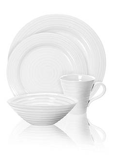 Portmeirion Sophie Conran White 4-Piece Place Setting