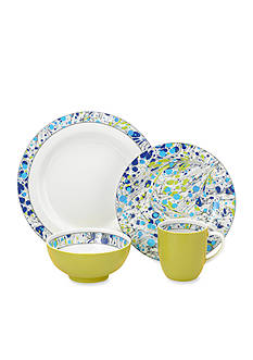Portmeirion Novella Moonlight 4-Piece Place Setting