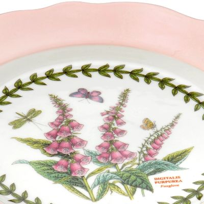 Portmeirion For The Home Sale: Pastel Pink Portmeirion Botanic Garden Terrace 2.75-pt. Scalloped Edge Pitcher Windflower