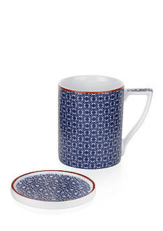 Portmeirion Malton Mug & Coaster Set