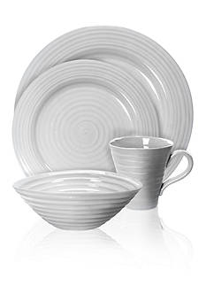 Portmeirion Sophie Conran Gray Serveware Collection