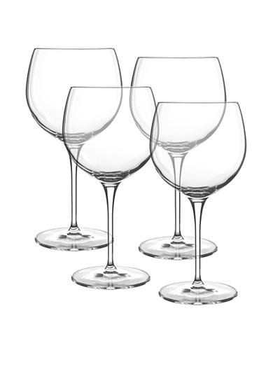 Luigi Bormioli Allegro Set of 4 Burgundy Wine Glasses