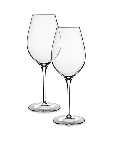 Luigi Bormioli Set of 2 Rich White Wine Glasses