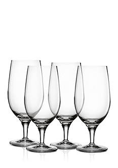 Luigi Bormioli Michelangelo Masterpiece Set of 4 Iced Tea Glasses
