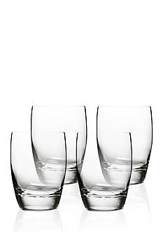 Luigi Bormioli Michelangelo Masterpiece Double Old Fashioned Glasses - Set of 4