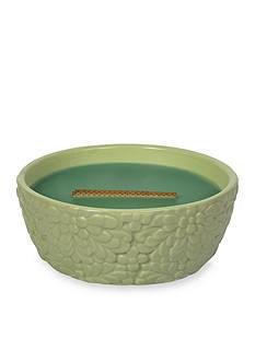 WoodWick HearthWick Flame Windowsill Herbs Garden Ceramic Candle