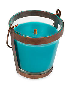 WoodWick® Tropical Oasis Copper Lantern Candle