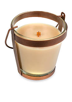 WoodWick® At The Beach Copper Lantern Candle