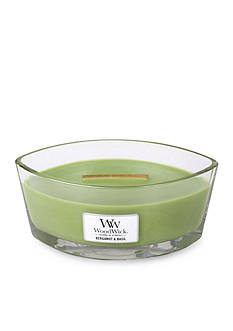 WoodWick Bergamot and Basil Ellipse Candle