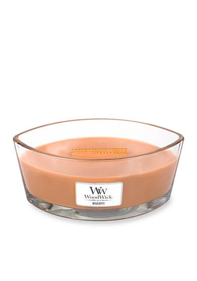 WoodWick® HearthWick Flame® Candle - Biscotti