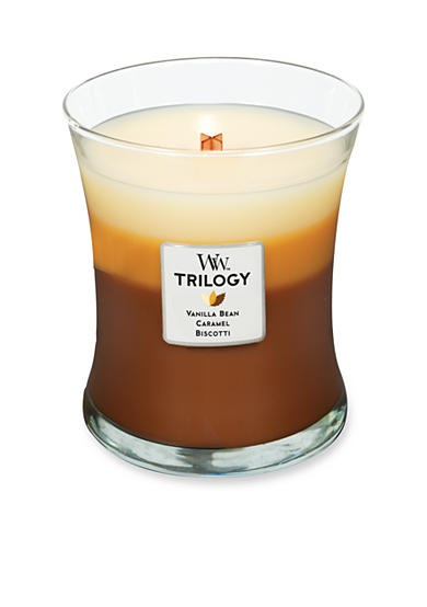 WoodWick® Trilogy Medium Candle - Caf Sweets