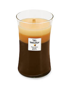 WoodWick Trilogy Large Candle - Cafe Sweets