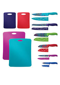 Farberware 16-Piece Paisley Knife Set