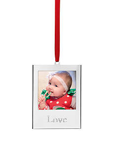 Lenox Love Frame Ornament
