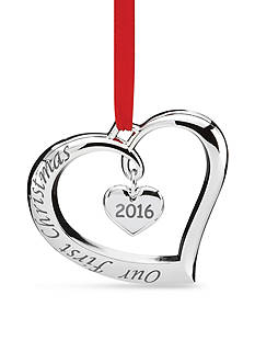 Lenox 2016 Our 1st Christmas Ornament