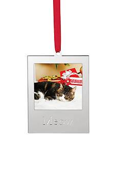 Lenox Meow Frame Ornament