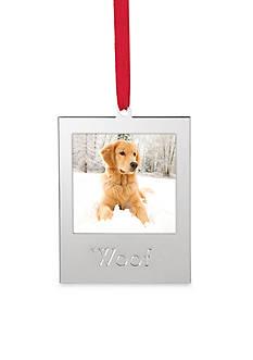 Lenox Woof Frame Ornament