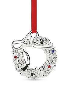 Lenox Jeweled Wreath Ornament