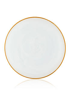 Vietri Alabaster White/Gold Dinnerware Collection