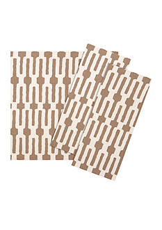 VIETRI Taupe Links Napkin