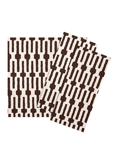 Chocolate Links Napkin