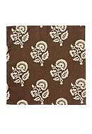 VIETRI Brown Modern Damask Napkin