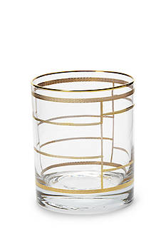 VIETRI Elegante Grid Double Old Fashioned
