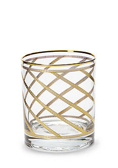 VIETRI Elegante Lattice Double Old Fashioned