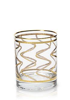 VIETRI Elegante Swirl Double Old Fashioned