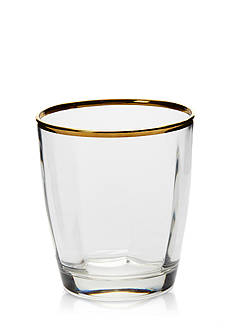VIETRI Optical Gold Drinkware
