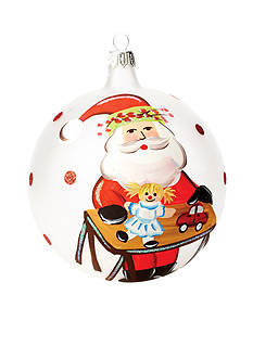 VIETRI Old St. Nick Worktable Ornament