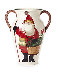 VIETRI Old St. Nick Umbrella Stand