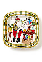 2015 Limited Edition Old St. Nick Square Platter
