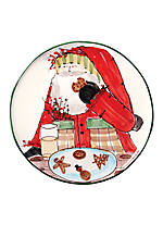 Old St. Nick Santa Cookie Platter 13.75-in.