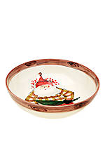 Old St. Nick Santa Serving Bowl 11-in. x 3.25-in.