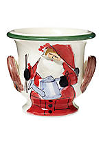 Old St. Nick Santa Cashepot 17-in. x 11.75-in. x  9-in.