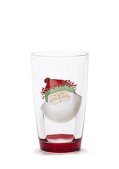 VIETRI Old St. Nick Highball Glass
