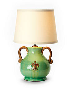 VIETRI Green Mini Lamp