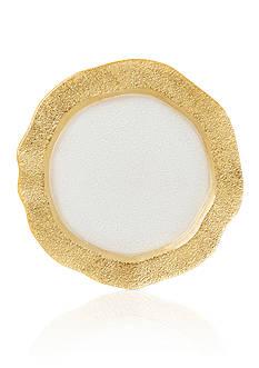 VIETRI Gold Organic Salad Plate