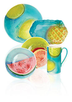 Vietri Sara's Fresh Fruit Dinnerware