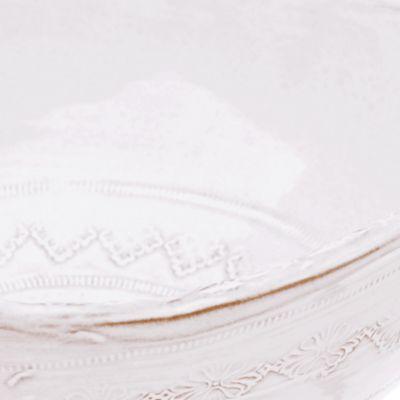 Platters: White VIETRI SANTA WHT SPOON REST