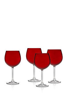 Godinger Meridian Red Wine Balloons, Set of 4