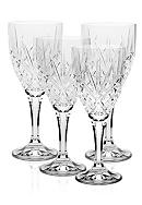 Godinger Dublin Set of 4 Wine Glasses