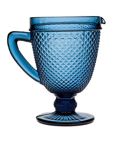 Godinger Blue Diamond Pitcher