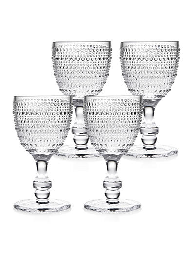 Godinger Lumina Clear Goblets, Set of 4
