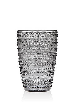 Godinger Lumina Smoke Hiball Glass, Set of 4