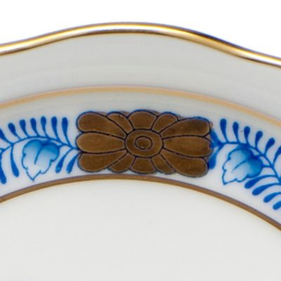 Gold China: Blue Herend 5-in. X 1-in. Narrow Pin Dish