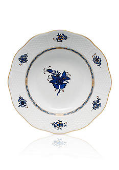 Herend Chinese Bouquet Rim Soup Plate - 8-in. D.